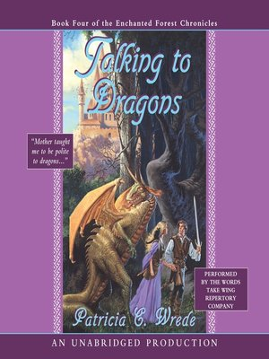 Click this cover for a(n) Audiobook sample of Talking to Dragons.