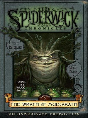 Click this cover for a(n) Audiobook sample of The Spiderwick Chronicles, Volume III.