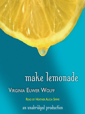Cover of Make Lemonade