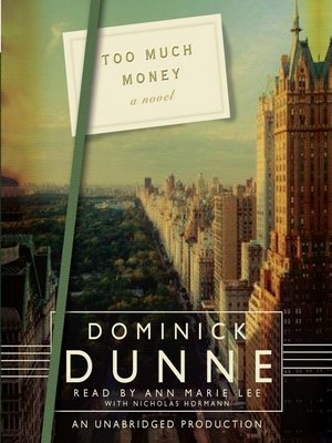 Click this cover for a(n) Audiobook sample of Too Much Money