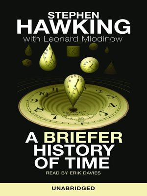 Click this cover for a(n) Audiobook sample of A Briefer History of Time.