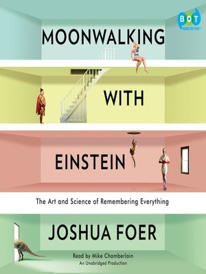 Click this cover for a(n) Audiobook sample of Moonwalking with Einstein.