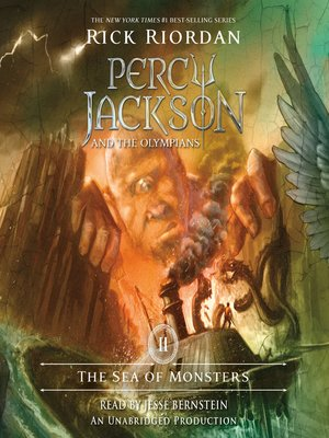 Click this cover for a(n) Audiobook sample of The Sea of Monsters.