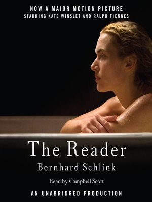 Click this cover for a(n) Audiobook sample of The Reader.