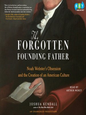 Click this cover for a(n) Audiobook sample of The Forgotten Founding Father.
