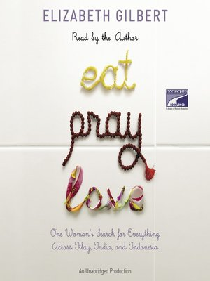 Click this cover for a(n) Audiobook sample of Eat, Pray, Love.