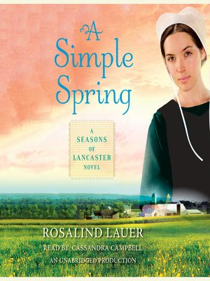 Click this cover for a(n) Audiobook sample of A Simple Spring