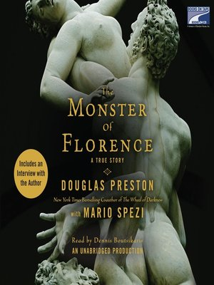Click this cover for a(n) Audiobook sample of The Monster of Florence.