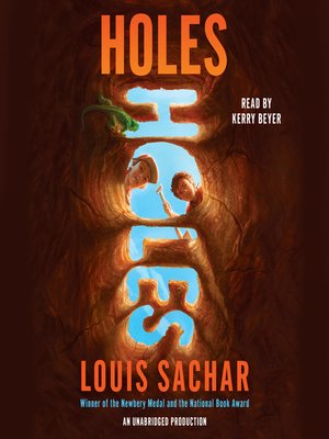 Click this cover for a(n) Audiobook sample of Holes.