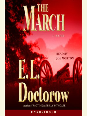 Click this cover for a(n) Audiobook sample of The March.