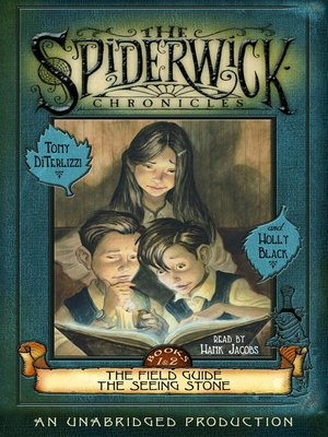 Click this cover for a(n) Audiobook sample of The Spiderwick Chronicles, Volume I.