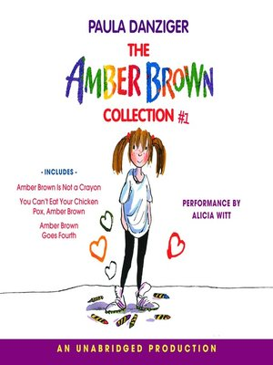 Click this cover for a(n) Audiobook sample of The Amber Brown Collection I.