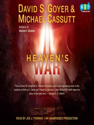 Click this cover for a(n) Audiobook sample of Heaven's War.