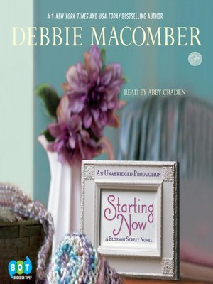 Click this cover for a(n) Audiobook sample of Starting Now.
