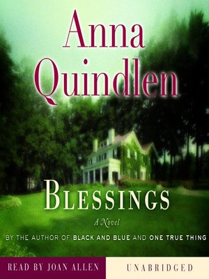 Click this cover for a(n) Audiobook sample of Blessings.