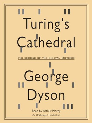 Click this cover for a(n) Audiobook sample of Turing's Cathedral.