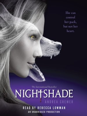 Click this cover for a(n) Audiobook sample of Nightshade.