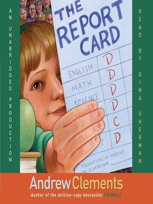 Click this cover for a(n) Audiobook sample of The Report Card.