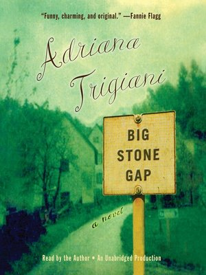 Click this cover for a(n) Audiobook sample of Big Stone Gap.