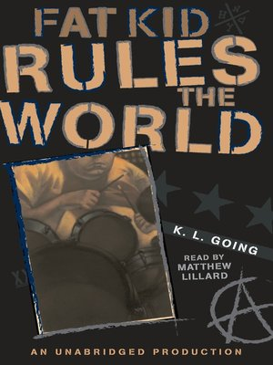 Click this cover for a(n) Audiobook sample of Fat Kid Rules the World.