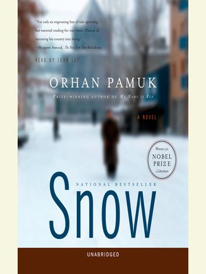 Click this cover for a(n) Audiobook sample of Snow