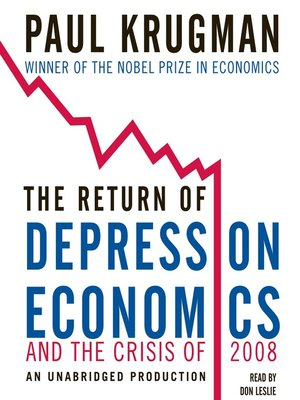 Cover of The Return of Depression Economics and the Crisis of 2008