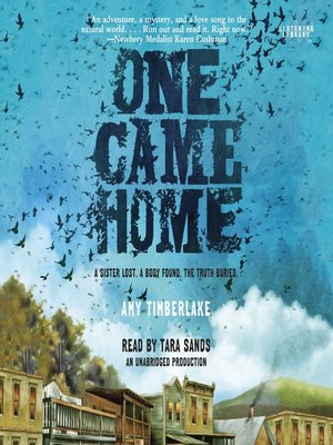 Cover of One Came Home