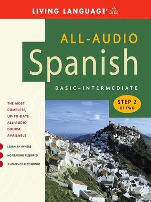 Click this cover for a(n) Audiobook sample of All-Audio Spanish Step 2