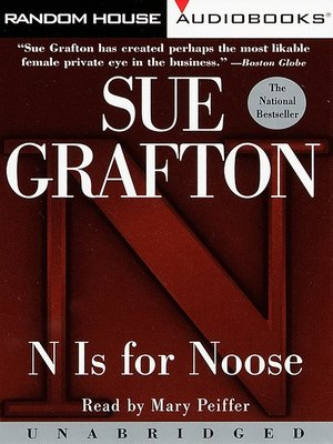 "Click this cover for a(n) Audiobook sample of ""N"" is for Noose"