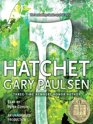 Click this cover for a(n) Audiobook sample of Hatchet.