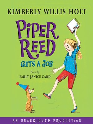 Click this cover for a(n) Audiobook sample of Piper Reed Gets a Job.