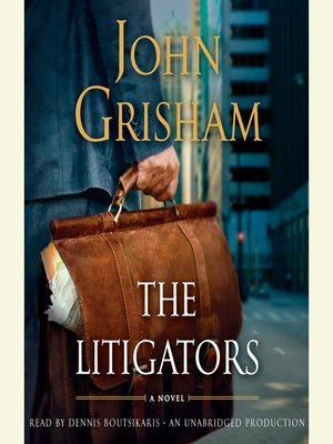 Click this cover for a(n) Audiobook sample of The Litigators.