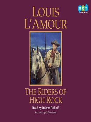 Click this cover for a(n) Audiobook sample of The Riders of High Rock.