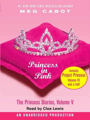 Click this cover for a(n) Audiobook sample of Princess in Pink