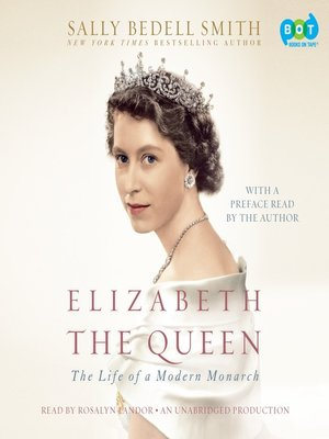 Click this cover for a(n) Audiobook sample of Elizabeth the Queen