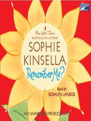 Click this cover for a(n) Audiobook sample of Remember Me?.