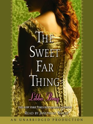 Click this cover for a(n) Audiobook sample of The Sweet Far Thing