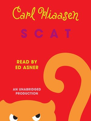 Click this cover for a(n) Audiobook sample of Scat.