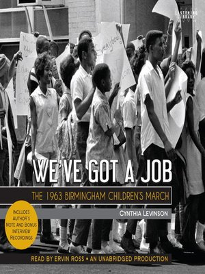 Click this cover for a(n) Audiobook sample of We've Got a Job