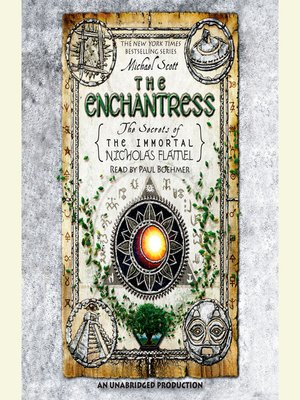 Click this cover for a(n) Audiobook sample of The Enchantress