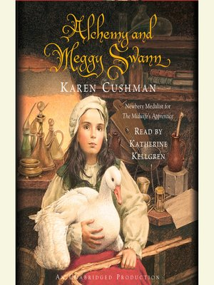 Click this cover for a(n) Audiobook sample of Alchemy and Meggy Swann