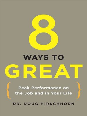 Cover of 8 Ways to Great