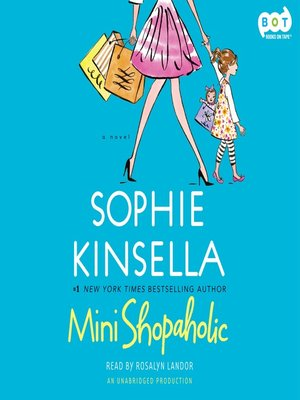 Click this cover for a(n) Audiobook sample of Mini-Shopaholic