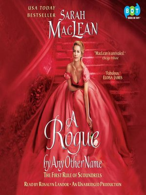 Click this cover for a(n) Audiobook sample of A Rogue by Any Other Name