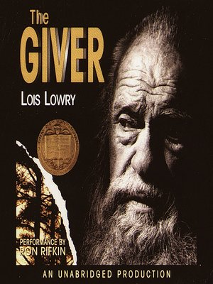 Click this cover for a(n) Audiobook sample of The Giver