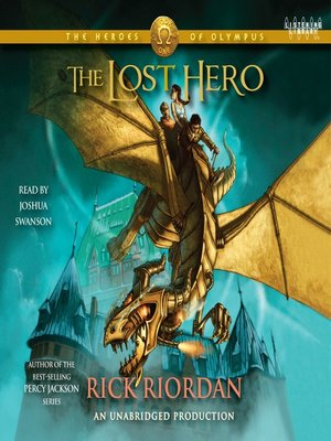 Click this cover for a(n) Audiobook sample of The Lost Hero