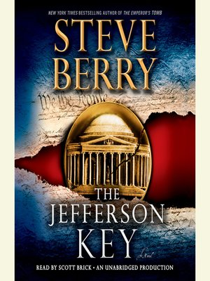 Click this cover for a(n) Audiobook sample of The Jefferson Key.