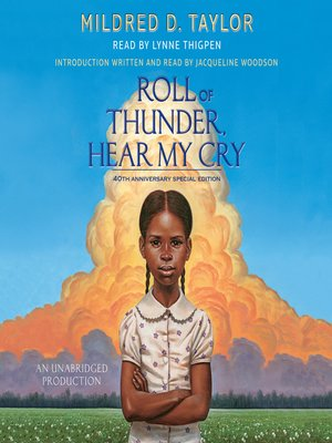 Click this cover for a(n) Audiobook sample of Roll of Thunder, Hear My Cry.