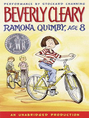 Click this cover for a(n) Audiobook sample of Ramona Quimby, Age 8.