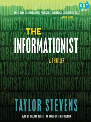 Click this cover for a(n) Audiobook sample of The Informationist.